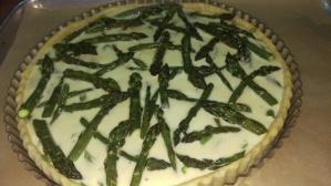 Asparagus-Chevre Tart
